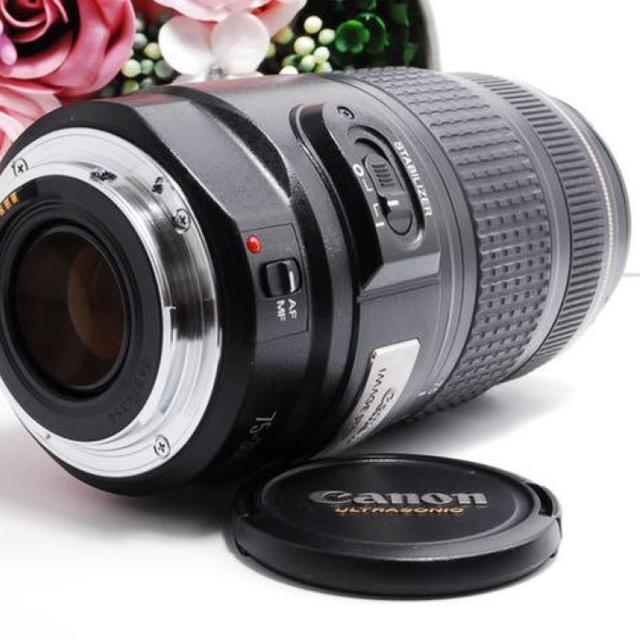 Canon(キヤノン)の【手ぶれ補正機能!】Canon EF 75-300mm IS スマホ/家電/カメラのカメラ(レンズ(ズーム))の商品写真