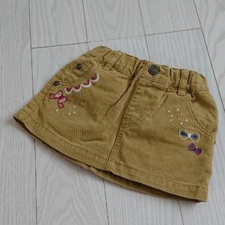 サニーランドスケープ(SunnyLandscape)のベビー 赤ちゃん スカート  刺繍  女の子(スカート)