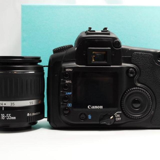 Canon(キヤノン)の【初心者入門機 !】Canon EOS 20D レンズキット スマホ/家電/カメラのカメラ(デジタル一眼)の商品写真