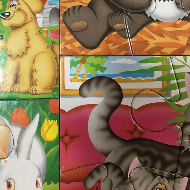 くもんのジグソーパズル キッズ/ベビー/マタニティのおもちゃ(知育玩具)の商品写真