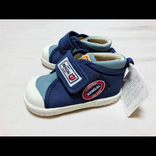 新品未使用 スニーカー シューズ ベビー キッズ BENGAL キッズ/ベビー/マタニティのベビー靴/シューズ(~14cm)(スニーカー)の商品写真