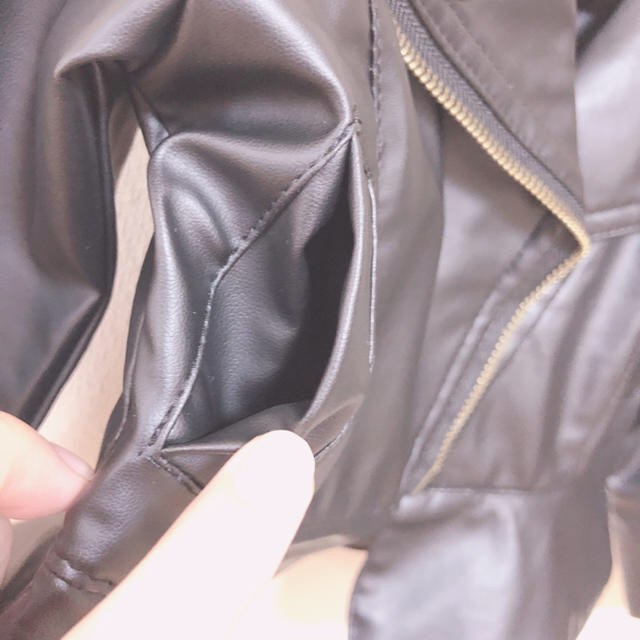 baby 12month ライダースジャケット キッズ/ベビー/マタニティのベビー服(~85cm)(ジャケット/コート)の商品写真