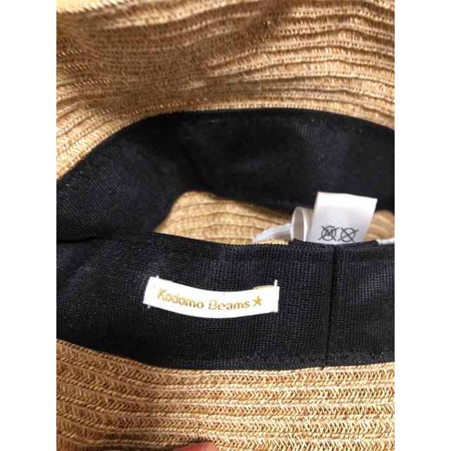 こども ビームス(コドモビームス)の麦わら帽子 キッズ/ベビー/マタニティのこども用ファッション小物(帽子)の商品写真