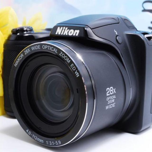Nikon(ニコン)の★超望★2016万画素★簡単操作 Nikon クールピクスL340 スマホ/家電/カメラのカメラ(デジタル一眼)の商品写真