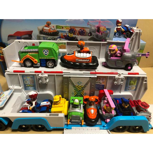 paw patrol パウパトロール おもちゃ パウ パトロール キッズ/ベビー/マタニティのおもちゃ(知育玩具)の商品写真