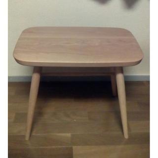 ムジルシリョウヒン(MUJI (無印良品))の無印良品 オーク材スツール・丸脚(コーヒーテーブル/サイドテーブル)