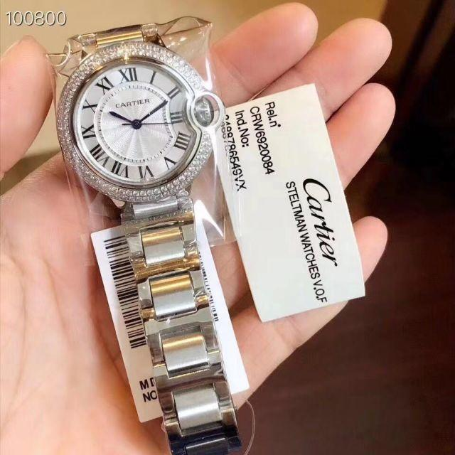 Cartier カルティエ BALLON BLEU(バロン ブルー)メンズ腕時計の通販 by アリ's shop|ラクマ