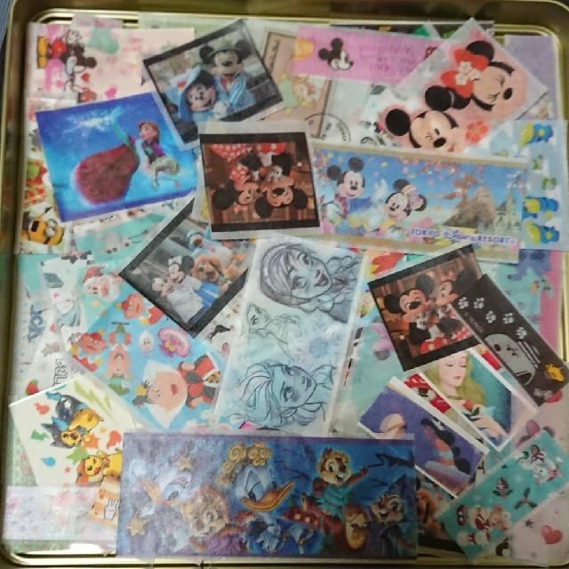 Disney(ディズニー)のディズニー他 キャラクターマスキングテープフレークシール インテリア/住まい/日用品の文房具(テープ/マスキングテープ)の商品写真