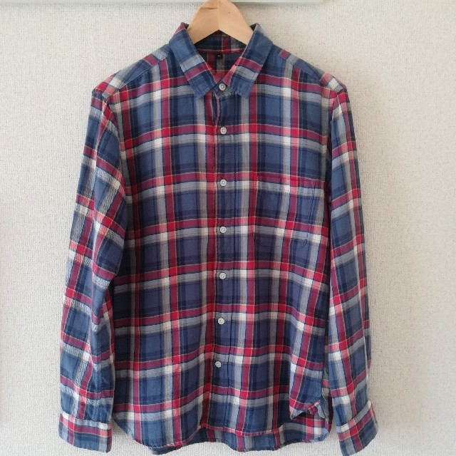 MUJI (無印良品)(ムジルシリョウヒン)の無印良品 長袖メンズシャツ メンズのトップス(シャツ)の商品写真