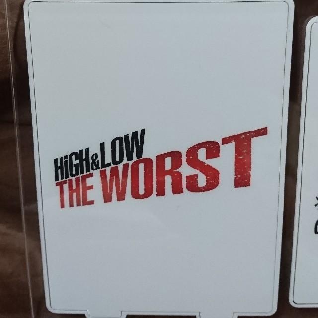 EXILE TRIBE(エグザイル トライブ)のHIGH&LOW THE WORST アクリルスタンド 真也 桐原 石井3セッ エンタメ/ホビーのタレントグッズ(男性タレント)の商品写真