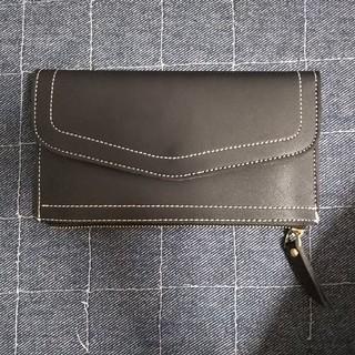 新品 財布 黒 長財布 ブラック(財布)