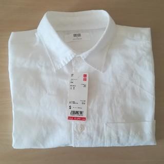 ユニクロ(UNIQLO)のUNIQLO メンズ リネンコットンシャツ(シャツ)