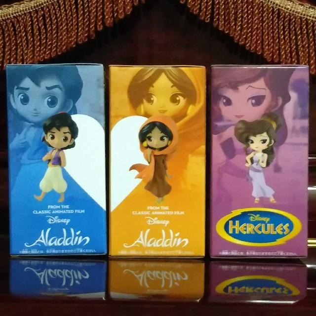 Disney(ディズニー)のQ posket petit Disney アラジンなど全3種セット エンタメ/ホビーのフィギュア(SF/ファンタジー/ホラー)の商品写真