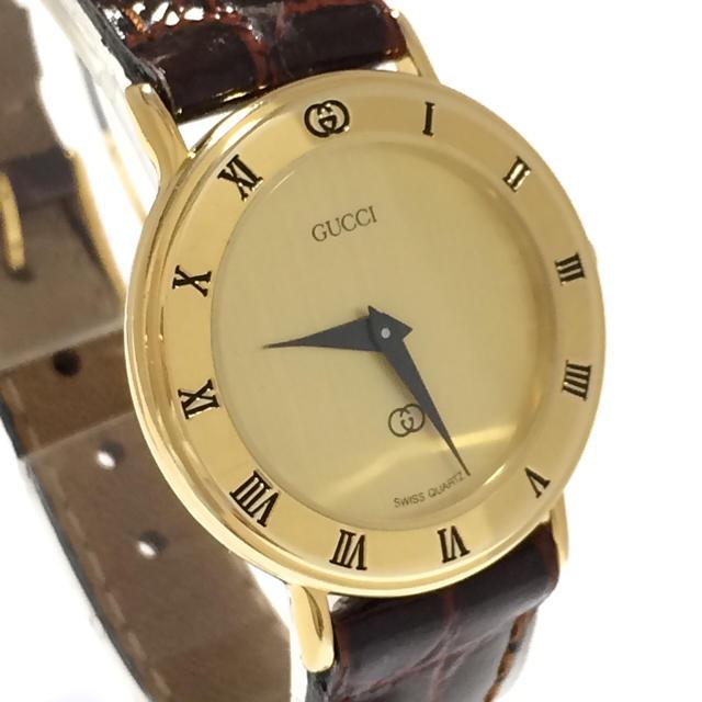 Gucci - 7.超美品 グッチ GUCCI 時計 3000Lの通販 by 夢市場|グッチならラクマ