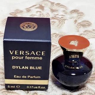 ヴェルサーチ(VERSACE)のヴェルサーチ ディランブルー フェム EDP 5ml ×2個セット(香水(女性用))
