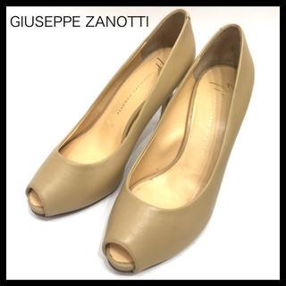 ジュゼッペザノッティ(GIUZEPPE ZANOTTI)のジュゼッペザノッティ オープントゥヒールパンプス 36サイズ(ハイヒール/パンプス)