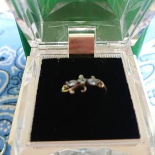 ブルートパーズ&アクアマリンのsilver925リング(リング(指輪))
