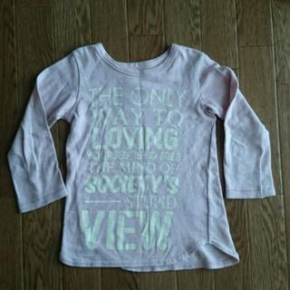 ゴートゥーハリウッド(GO TO HOLLYWOOD)の美品ゴートゥハリウッド七分Tシャツ110(Tシャツ/カットソー)