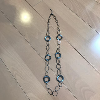 エイチアンドエム(H&M)のリングネックレス(ネックレス)
