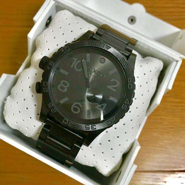 NIXON - 【大特価!!】MENS NIXON 51-30 人気モデル腕時計 ブラック🎀の通販 by リラックス's shop|ニクソンならラクマ