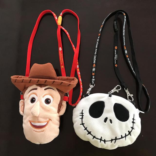 Disney(ディズニー)のディズニー ポシェット2個 エンタメ/ホビーのおもちゃ/ぬいぐるみ(キャラクターグッズ)の商品写真