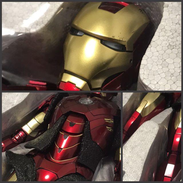 ホットトイズ アイアンマン マーク4 パワードスーツ装着機付き エンタメ/ホビーのフィギュア(アメコミ)の商品写真