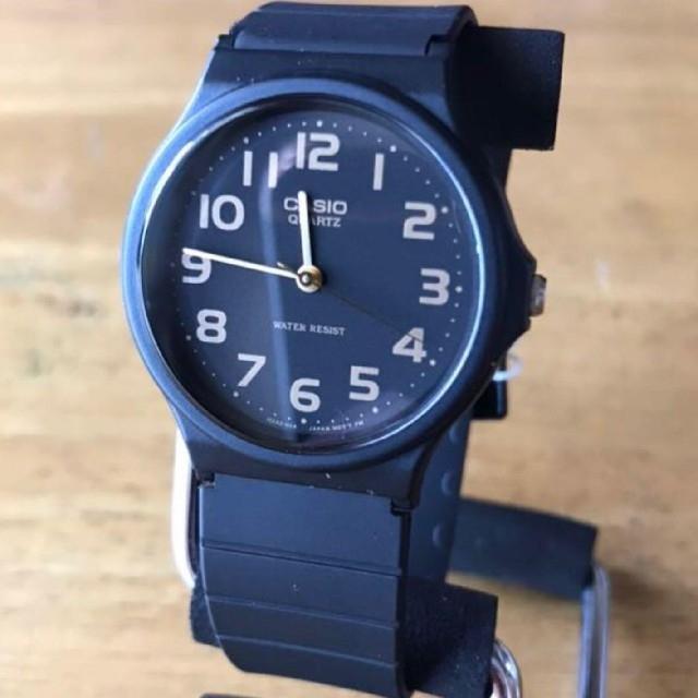 CASIO - 【新品】カシオ CASIO レディース 腕時計 MQ24-1B2 ブラックの通販 by 遊☆時間's shop|カシオならラクマ