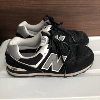 ニューバランス(New Balance)のニューバランス 574 スニーカー  ブラック 22㎝(スニーカー)