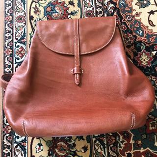 マザーハウス(MOTHERHOUSE)のマザーハウスの茶色のバッグパック(リュック/バックパック)
