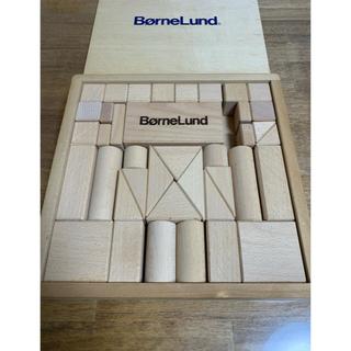 ボーネルンド(BorneLund)のBone Lund ボーネルンド 積み木 木のおもちゃ 40ピース(積み木/ブロック)