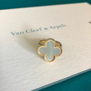 Van Cleef & Arpels - クローバー シェル リング