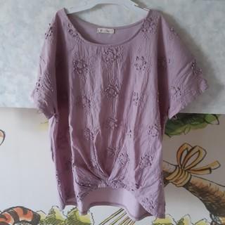 ソルベリー(Solberry)のsoulberry 刺繍プルオーバー(カットソー(半袖/袖なし))