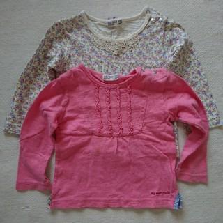 ラグマート(RAG MART)のラグマート ロングTシャツ 2枚セット 80(Tシャツ)
