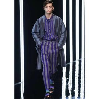 ハレ(HARE)の新品タグ付き(๑˃̵ᴗ˂̵)✨‼️ HARE ストライプ 紫綺麗⭐️ パンツ(カジュアルパンツ)