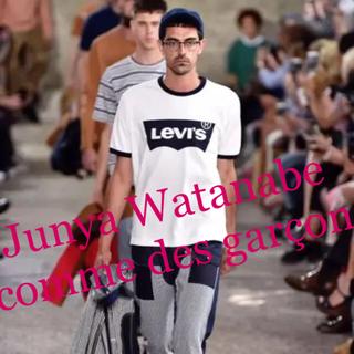 JUNYA WATANABE COMME des GARCONS - 新品タグ付き☆JUNYA WATANABE リーバイス ダブルネームT