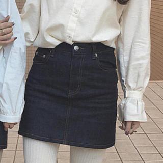 ワンアフターアナザーナイスクラップ(one after another NICE CLAUP)のrili tokyo / デニムスカート(ミニスカート)