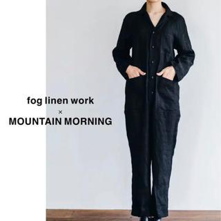 フォグリネンワーク(fog linen work)の【限定】fog linen work×MOUNTAIN MORNING つなぎ(オールインワン)
