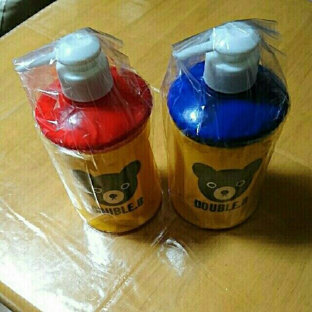 mikihouse(ミキハウス)のMIKI HOUSE  非売品 ソープボトル 赤と青 2セット その他のその他(その他)の商品写真