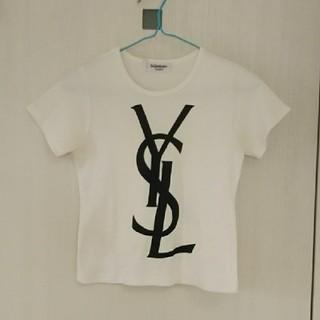 サンローラン(Saint Laurent)のYVES SAINT LAURENT☆ロゴTシャツ(Tシャツ(半袖/袖なし))