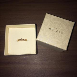 ノジェス(NOJESS)の【hrd様専用】NOJESS K10YG フェアリークラウン ピンキーリング(リング(指輪))