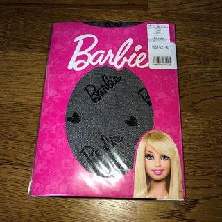 バービー(Barbie)の新品未開封 バービー ストッキング 黒(タイツ/ストッキング)