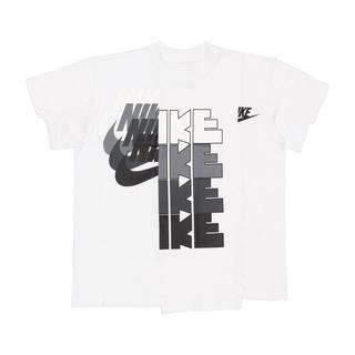 サカイ(sacai)の新品 Nike×sacai T-shirt XS ナイキ サカイ Tシャツ (Tシャツ/カットソー(半袖/袖なし))