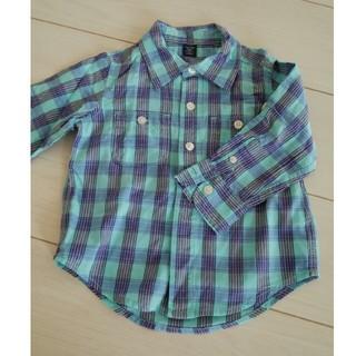 ベビーギャップ(babyGAP)のチェックシャツ 春秋 90㎝サイズ(ブラウス)
