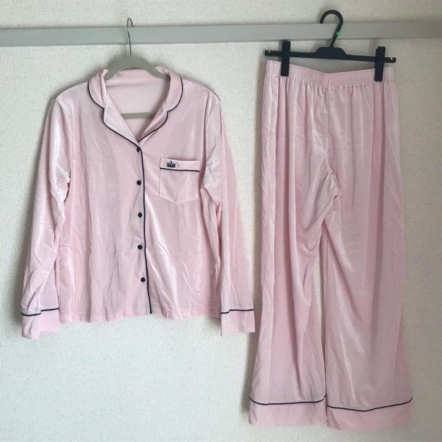 GU(ジーユー)のGUパジャマ レディース☆秋にぴったりなベロア レディースのルームウェア/パジャマ(パジャマ)の商品写真