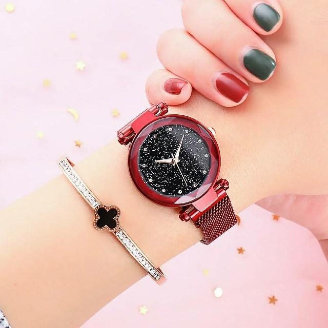 腕時計 レディースウォッチ マグネットバンド 海外インポートの通販 by コセッキー's shop|ラクマ