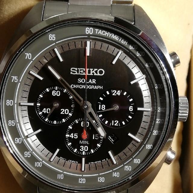 SEIKO - ☆新品 セイコー ソーラー クロノグラフの通販 by Aki'shop|セイコーならラクマ