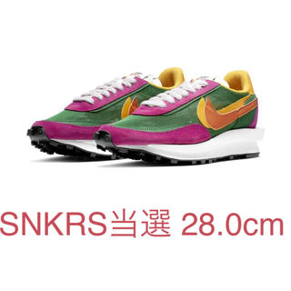 ナイキ(NIKE)のSACAI X ナイキ LD ワッフル PINE GREEN 28.0sacai(スニーカー)