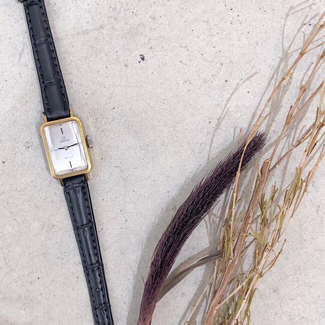 OMEGA - 【OH済/仕上済】オメガ デビル カットガラス ゴールド レディース 腕時計の通販 by LMC|オメガならラクマ