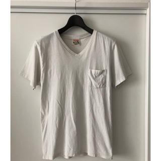 ダブルタップス(W)taps)のグラッドハンド Vネック ポケT(Tシャツ/カットソー(半袖/袖なし))