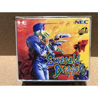 エヌイーシー(NEC)のSCD エメラルドドラゴン(家庭用ゲームソフト)